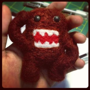 Needle Felting: Domokun by Avi-Ayuni