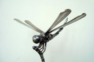 DRILL BIT DRAGONFLY by ShaneMartinDesigns