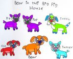 Bear in the Big Pig House by BITBBH-Lover98