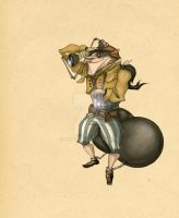 Character from Munchausen by Anuk