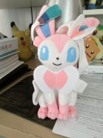 Sylveon plush by Legendrawing