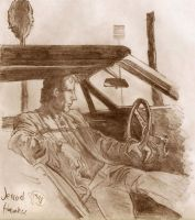 Dude in a Car by EnterKramer