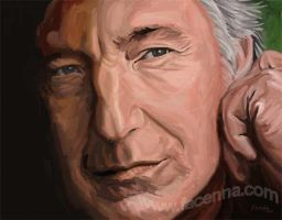 Rickman - Digital Painting by Facenna