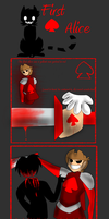 Red Alice: Tord of human scrafice by MindART-ftw