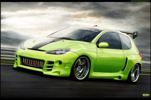 Peugeot 206 by Wrofee