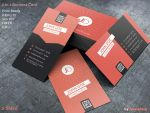 2 in 1 Business Card by khaledzz9