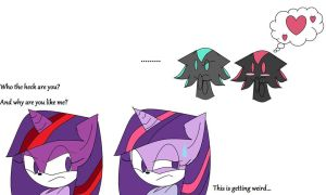 A Copycat or just a dark version? by BlackMasterElite15