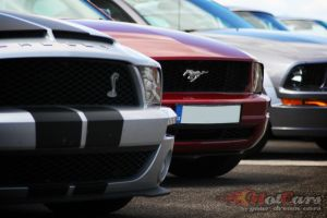 Ford Mustangs by Hotcars