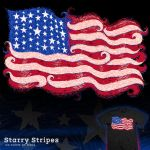 Starry Stripes - tee by InfinityWave