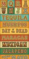 Mexican Text Styles by Jeremychild