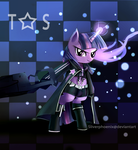 Black Rock Shooter Twilight Sparkle by Incinerater