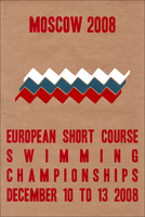 Moscow Swimming Poster by Euskera