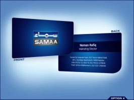 Samaa Business Card 4 by aliather