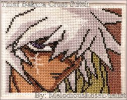 Thief Bakura Cross Stitch by MelodiousRoseDuelist