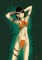 Nomi of the Jungle by RedVioletPanda
