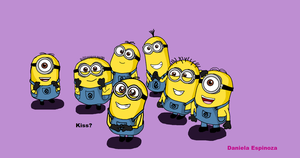 Despicable Me - Minions Good Night Kissis by DanielaEspinoza19