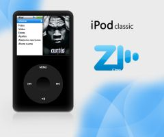 iPod classic Blue passion by DJC87