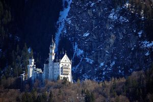 Neuschwanstein by LordXar