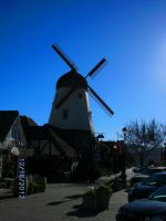 Town Windmill by BecDeCorbin