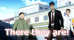 the Nostagia Critic and his nemisis, AVGN in anime by datazeroone2