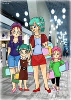 Shopping with Aunt Bulla by Dickie2008
