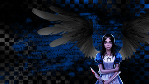 Dark Angel Alice Wallpaper by uke-zaidy2008