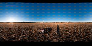 Airport field normal pano by Egg-Salad