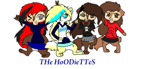 The hoodiettes by WaffIo