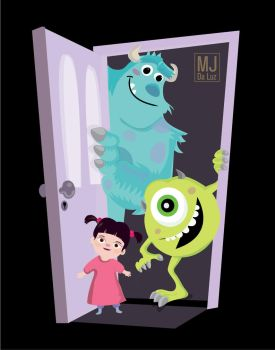 Monsters inc. by mjdaluz