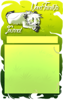 Journal skin for NovaTrinity by Wolfvids