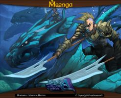 Moonga - Charge of the Elite Rider by moonga