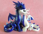 Lovey Dragon Topper by DragonsAndBeasties