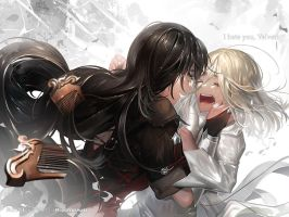 I Hate You Velvet! [Tales Of Berseria] by MayuiChan17