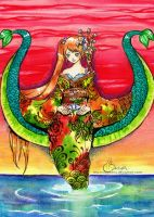 Living Lily of the Sea by FranyBerry