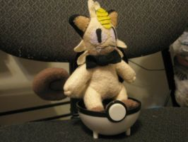 Meowth Plush by Vulpes-Canis