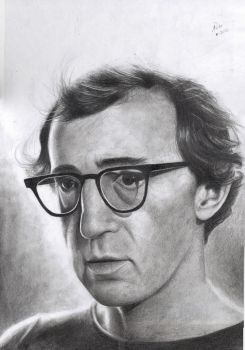 Woody Allen by dreerose