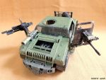 Custom Mad Max Hummer Interceptor Fallout by BlckThorne