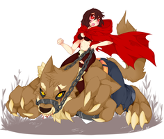Red riding hood take 2 by punipaws