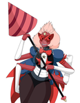 Sardonyx's drill will pierce THE HEAVENS!!! by AtamaMuhonninWorks
