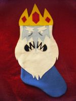 Ice King Stocking by Red-Flare