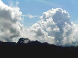 Profile and clouds by edelweiss26