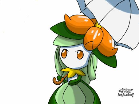 PPA: Lilligant, holding a umbrella. by ShingStreet