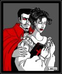Mr. Sinister and his wife by Logna
