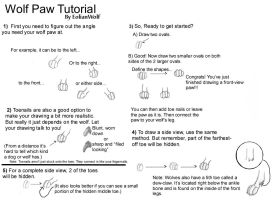 Wolf Paw Tutorial by EolianWolf