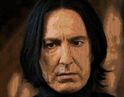 Snape Screenshot Mosaic by smallrinilady