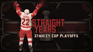 Red Wings 22 Straight Years - WP by madeofglass13