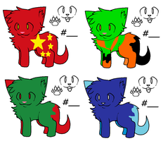 Cute Name Your Price Cat Adopts by fooo4