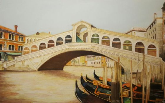 Rialto Bridge Venice by MariaIla