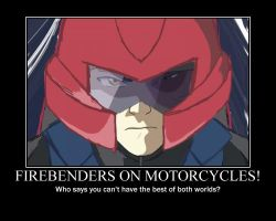 FIREBENDERS ON MOTORCYCLES 2 by raptix1