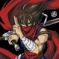 Special A-Class Strider Hiryu by thee-namichelle-gun